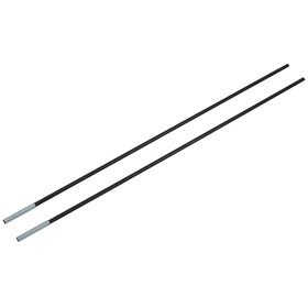CAMPZ - Segment d'arceau fibres de verre 8mm/0,65m - noir